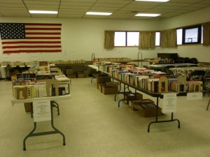 After final book sorting