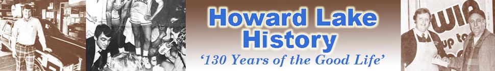 Howard Lake History Book header image 1